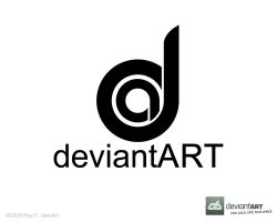 Deviant Art Logo 8 ReyJ. by reyjdesigns