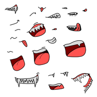 Mouths bases by DemonSheyd500025