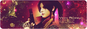 Claire Redfield signature by V.R. by Vicky-Redfield