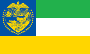 Oregon State Flag Proposal No.3 By: S.R. Barlow by DesertStormVet