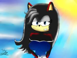 Daismy The Hedgehog by I-G-imagination