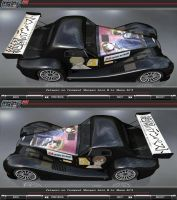 Zetsuen no Tempest Morgan Aero 8 GT3 Itasha [Top] by FAT8893