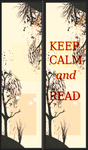 Marque page Keep Calm and read by JolinesGraphisme