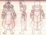 Sanjina Character Reference Sheet WIP by AnonTheDarkOne