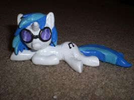 Vinyl Scratch Polymer Custom Commission Mlp Fim by Reyndrys