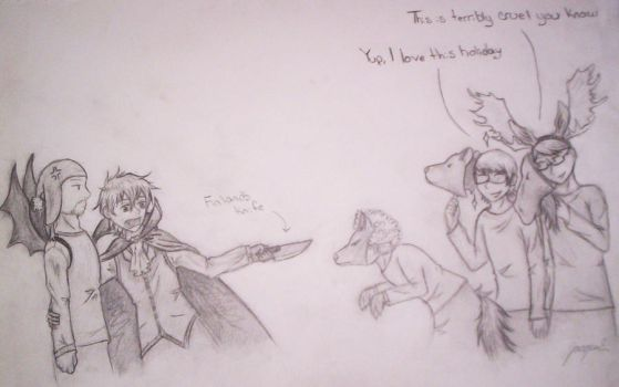 Halloween The SatW way by 1dplover