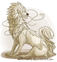 The Shaggy Dragon by Gloriaus