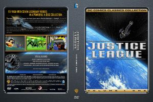 Justice League Volume 1 Custom DVD Cover by SUPERMAN3D
