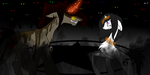 the demons of the dark by theWolfdragon21