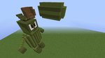 Megaman VS Zombies 3: Melon-Pult Man by TailsProwerMinecraft