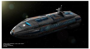Cygnus-class commercial luxury liner by Shoguneagle