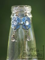 Vintage Style Earings - FOR SALE by WitTea