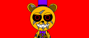 Nightmare Fredbear by SCPBronydude