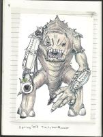 Cybernetic Rancor by Aeruhl