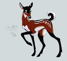 Another Shaddie deer by Kinky-Slingy