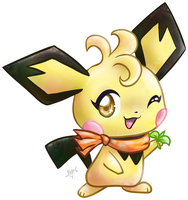 Spring the Pichu by sekihiro