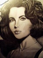 Elizabeth Taylor by The4everFlower