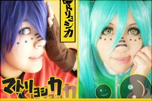 Matryoshka Vocaloid Cosplay by SusanEscalante