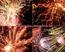 Fireworks Set - Preview by BordomBeThyName