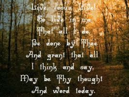 Live, Jesus, Live by TheWandererNears