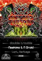 my_2008_twisted_tuesday_flyers by cosmique69