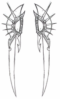 Untitled- Assassin's Daggers by Crow-of-the-Abyss