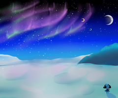 Ice Planet by SkyLight-X3