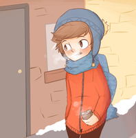 chilly day out ey by Pumptkin