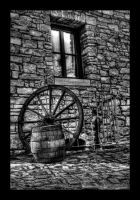 wheel and barrel by matze-end