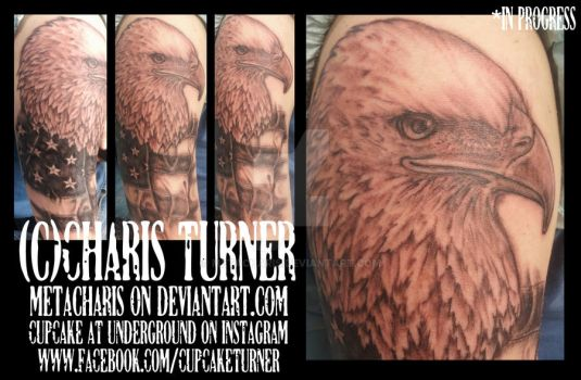 Eagle Tattoo by Metacharis