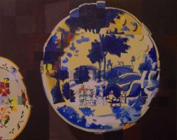 Artifacts: Delftware Plates by CheVD
