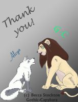 Thank you by Gothic-Capybara