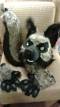 *SOLD* Partial for sale at Midwest Furfest 2016 by OurMassHysteria
