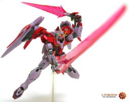 Gundam 00 Raiser - Trans-AM by logantoys