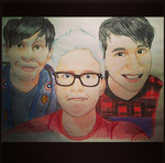 PHIL LESTER  , TYLER OAKLEY AND DAN HOWELL by Catuistos