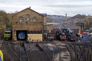Haworth Yard by robertbeardwell