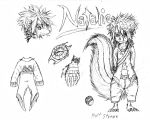Natalie the Skunk by Faullyn