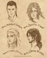 Game of Thrones RPG Characters by KMCgeijyutsuka