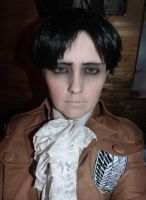 SnK: Levi cosplay test by DePleur