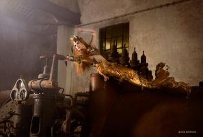Rusted Mermaid by Annie-Bertram