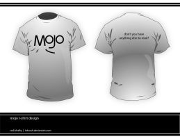 Mojo T-shirt _read back side_ by inkrush