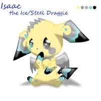 Isaac-The Ice Steel Draggie~ by Seth-Astral
