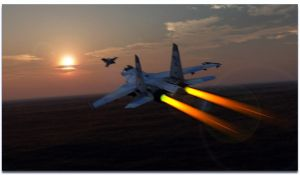 Flanker and Gripen by archangel72367
