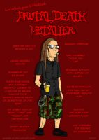 Metal 101- The Death Metaller by LusoSkav