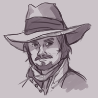 The Musketeers: Athos by pseudoMim