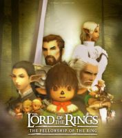 LORT poster in FFXI style by lurazeda