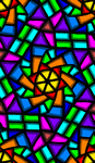Stained Glass Doodle by groundhog22