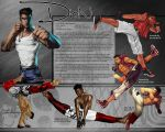 Dion Character and Background Sheet II by WhiteStorm