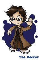 Doctor Who by ChibiTigre