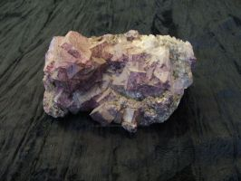 Illinois Flaurite, Purple and whitish clear by Janski-Designs